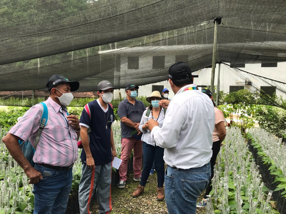 Comité Municipal de Desarrollo Rural de Rionegro visitó Centro de Investigación La Suiza