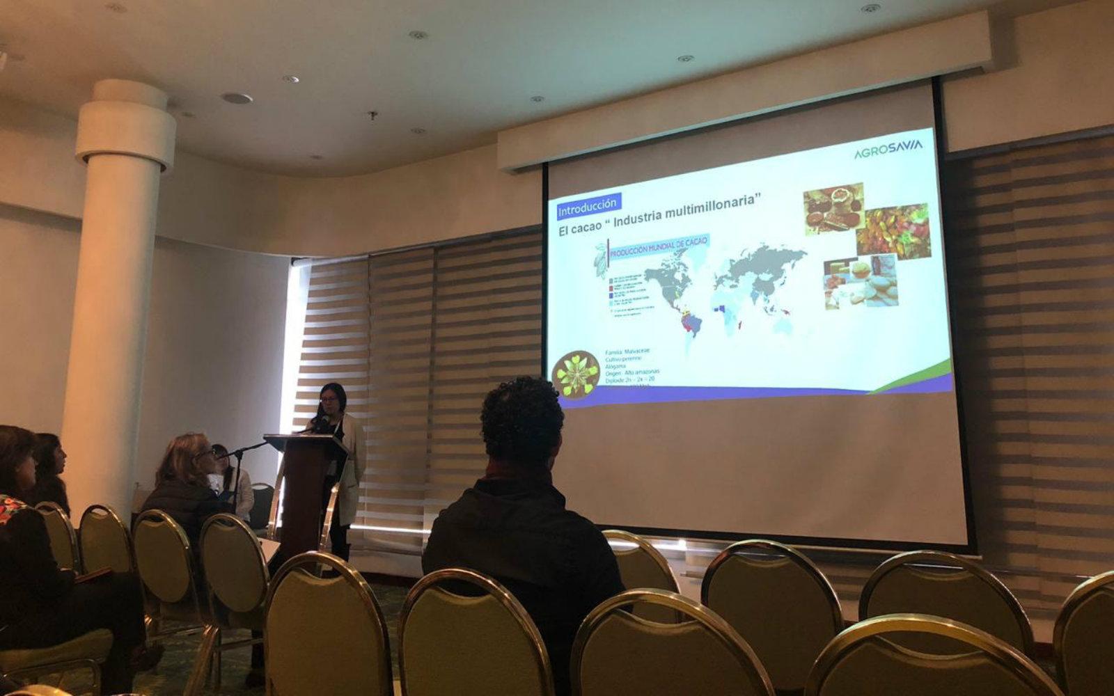AGROSAVIA estuvo presente en el congreso C2B2