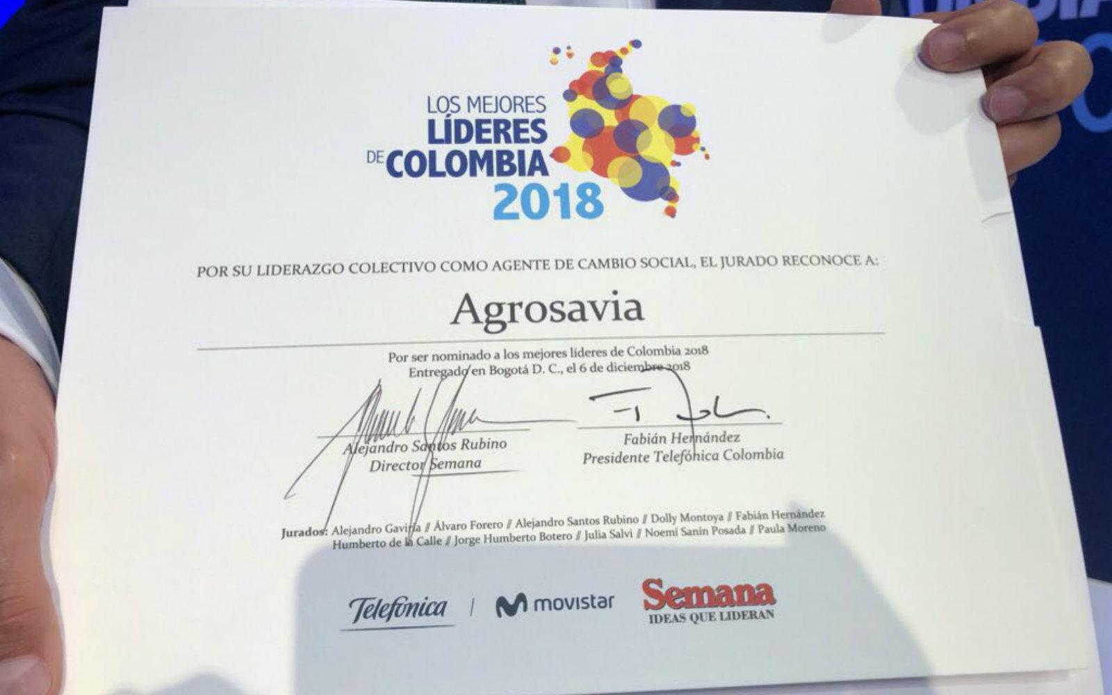 """Tres investigadores de AGROSAVIA fueron nominados por la revista Semana al """"Premio Mejores Líderes de Colombia"""""""