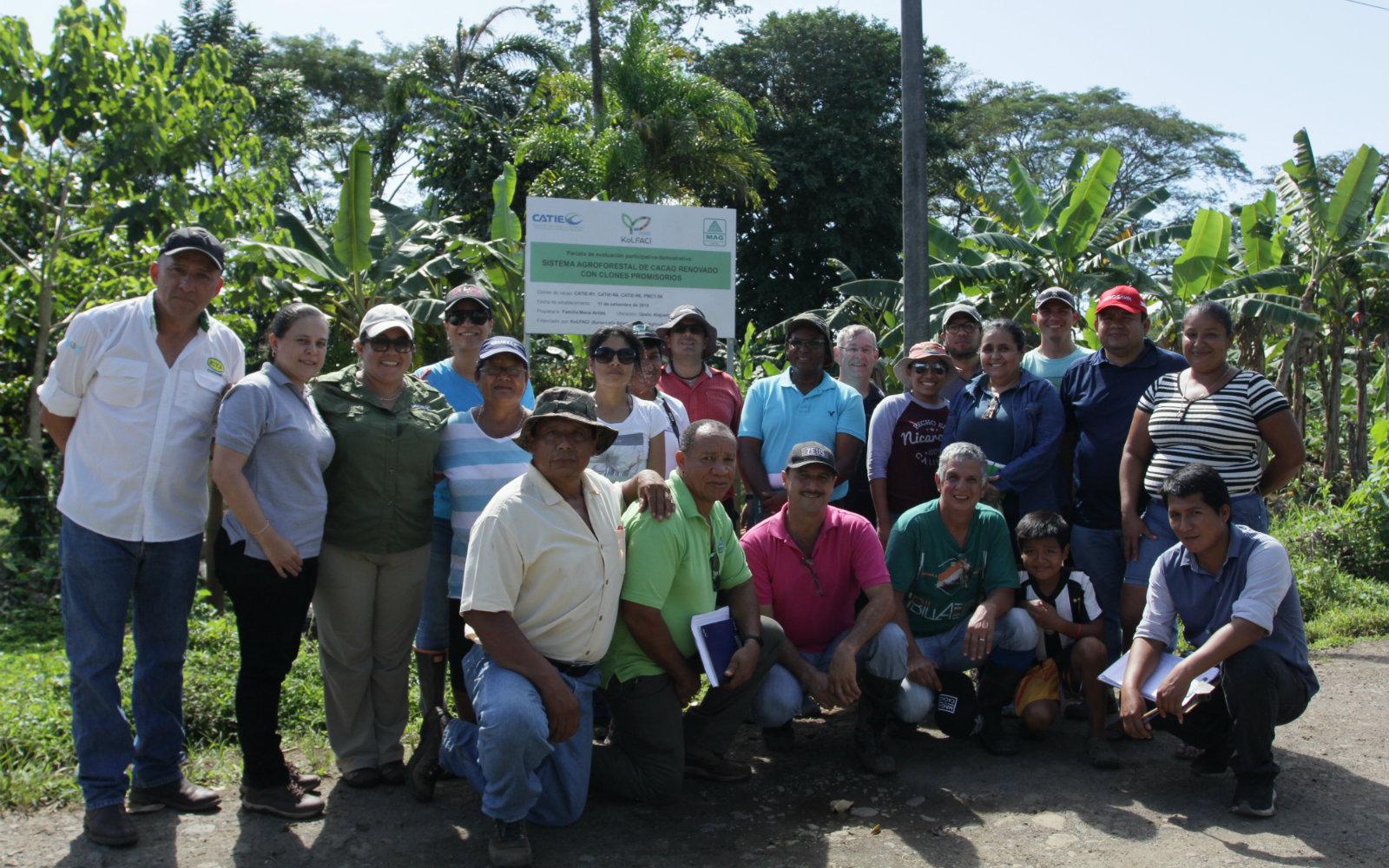 AGROSAVIA avanza en proyecto dirigido por CATIE financiado por KoLFACi