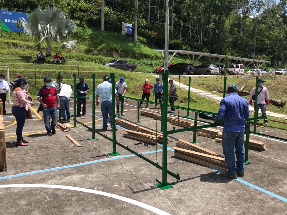 AGROSAVIA inició entrega de 550 módulos de beneficio