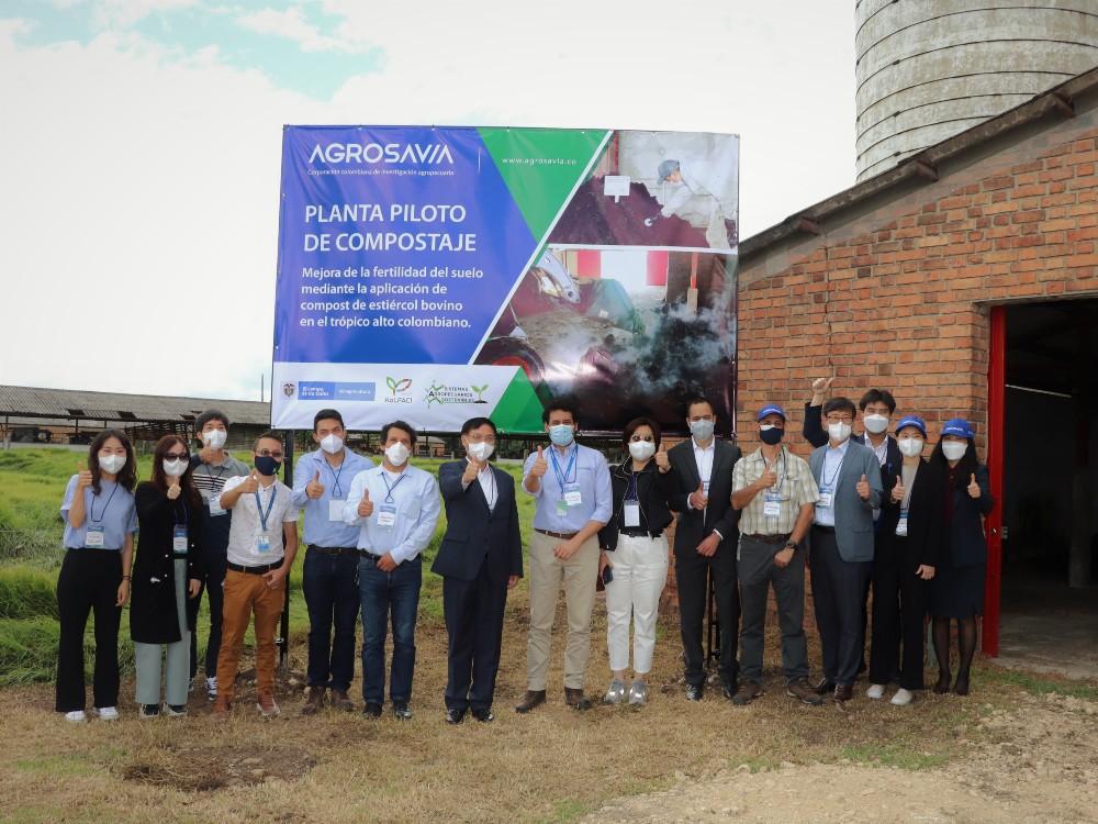 Corea y Colombia unidas por la ciencia, la tecnología y la innovación agropecuaria