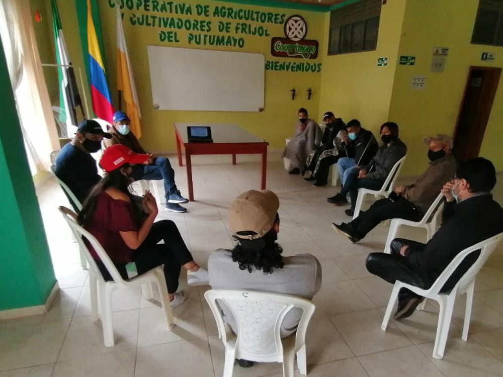 Fortalecimiento de los sistemas locales de producción de semilla de fríjol en el Valle de Sibundoy, Putumayo