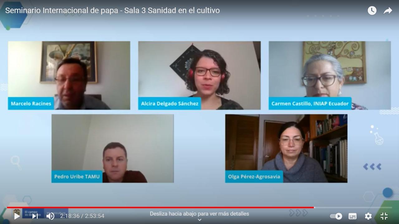"""Seminario Internacional """"Nuevos retos para el mejoramiento tecnológico y productivo del sistema papa en Nariño"""""""