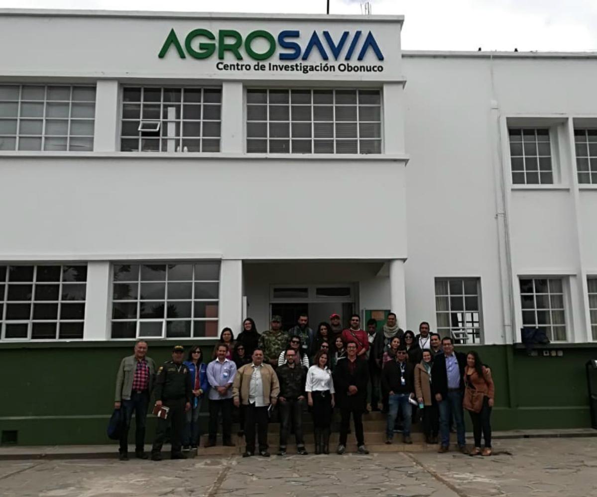 Reunión de la Mesa Departamental de Cambio Climático de Nariño en Agrosavia