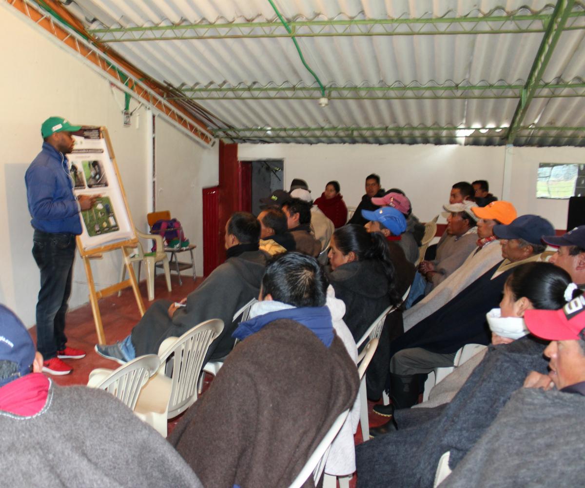 Agrosavia más cerca del productor y el estudiante agropecuario en Nariño
