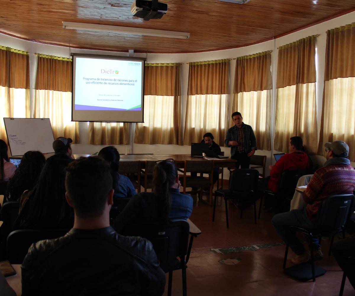 AGROSAVIA presenta la plataforma Dietro en Nariño