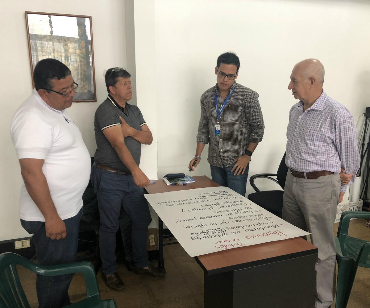 Mesa Agroclimática del Tolima, un año de labores