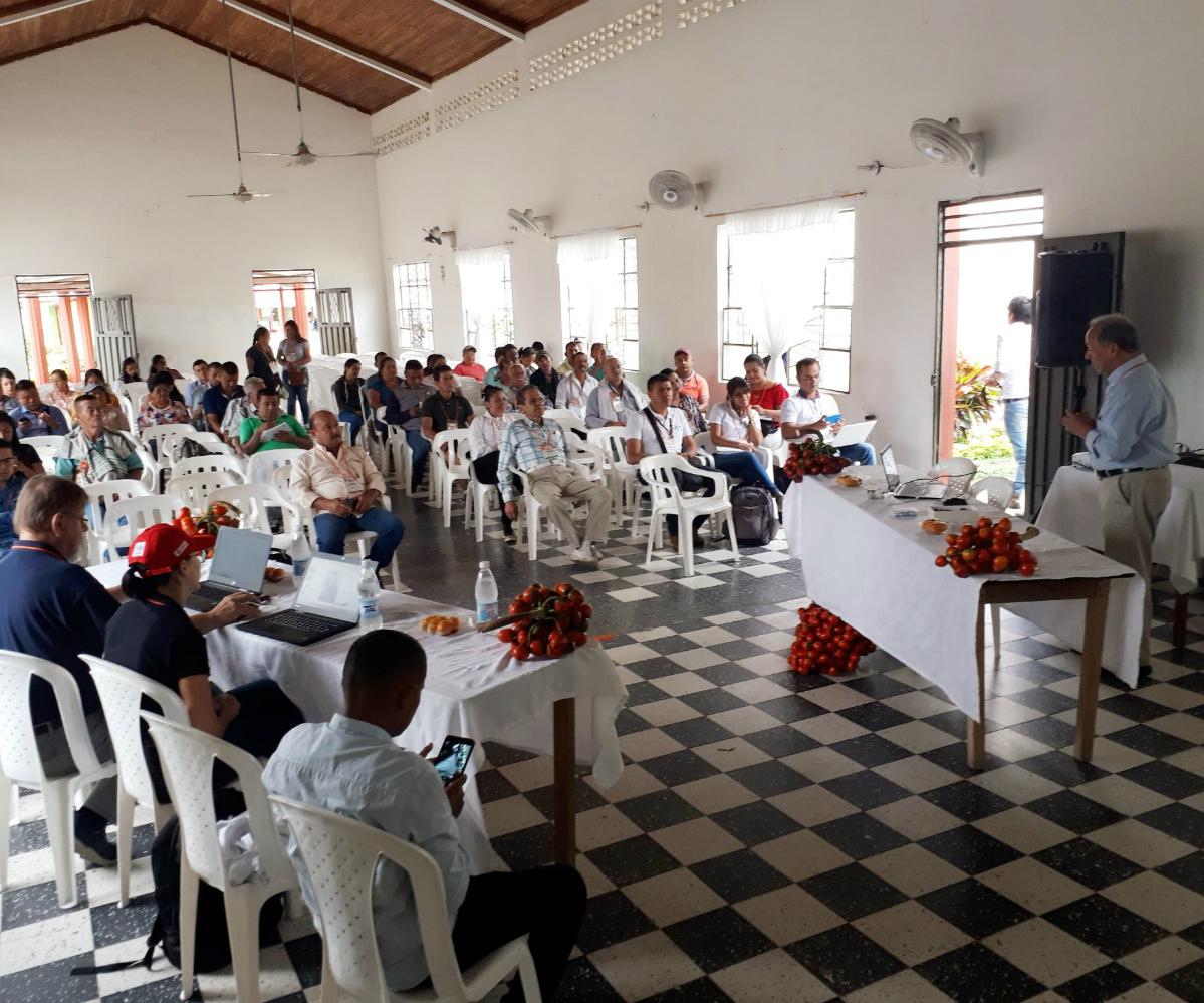 Primer Seminario técnico del cultivo de chontaduro en Putumayo