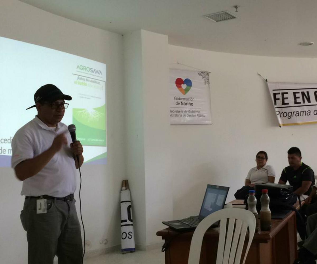 AGROSAVIA más cerca del productor agropecuario en El Peñol – Nariño