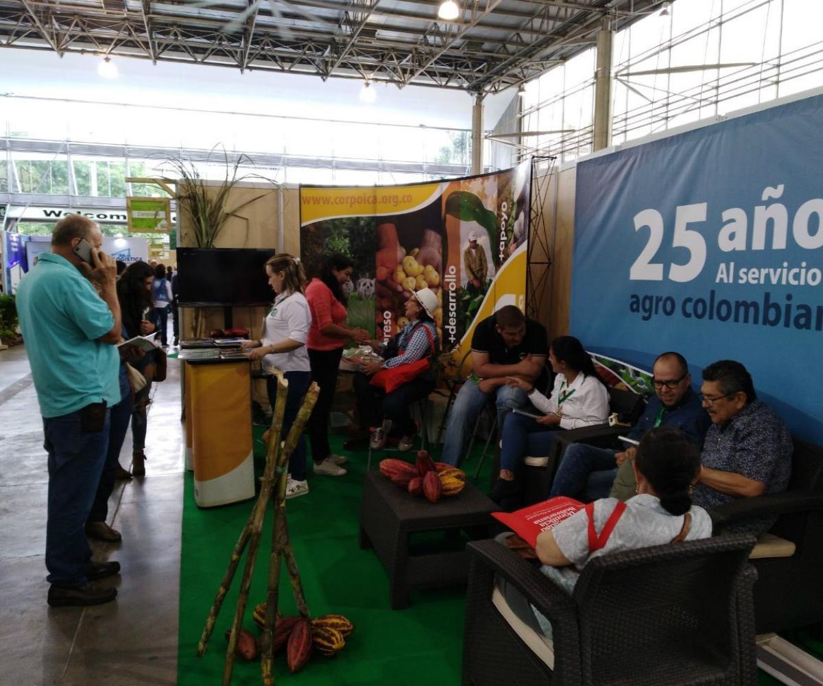 AGROSAVIA presente en Expofinca 2019 en Medellín