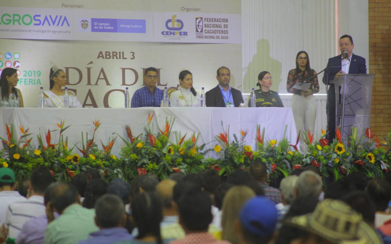 AGROSAVIA se vinculó al día del cacaocultor en Agroferia 2019
