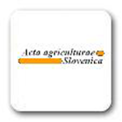 Acta Agriculturae Slovenica(Eslovenia) 2004 - 2019