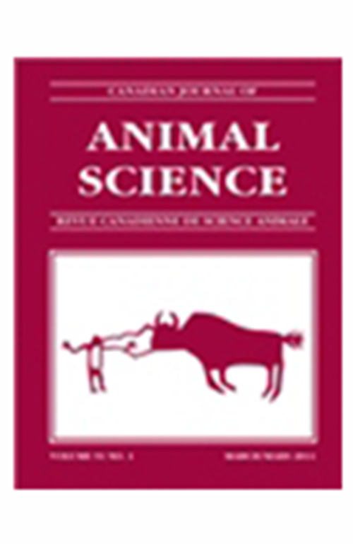 Canadian Journal of Animal Science (1957-2014). Revista en Suscripción - AGROSAVIA