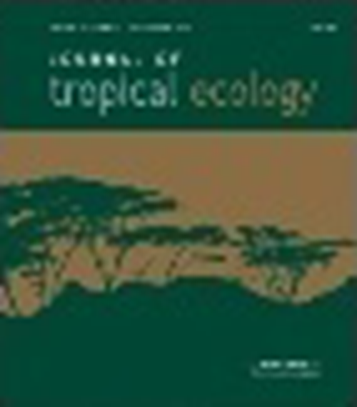 Journal of Tropical Ecology (1985-2014). Revista en Suscripción - AGROSAVIA