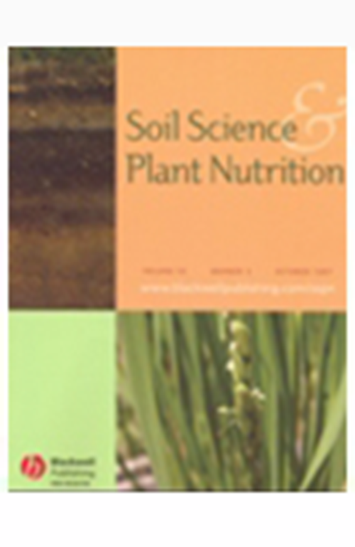 Soil Science and Plant Nutrition (1955 - 2014). Revista en Suscripción - AGROSAVIA