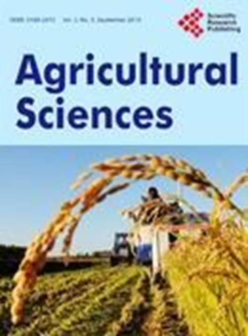 Agricultural sciences (2010 – 2018)