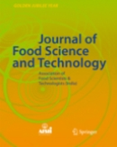 Food Science and Technology (1997 - 2017)