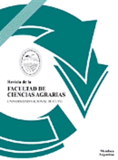 Revista de la Facultad de Ciencias Agrarias. Universidad Nacional de Cuyo.  Argentina (1949 - 2014)
