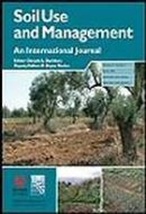 Soil Use and Management  (2013-2018)