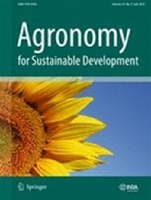 Agronomy for Sustainable Development (2007-2018)
