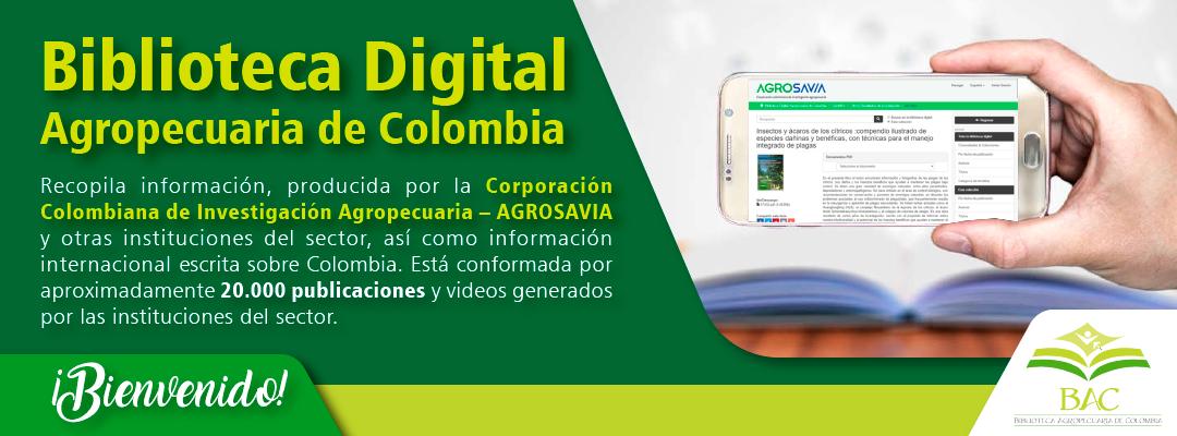 Banner Biblioteca Digital Agropecuaria