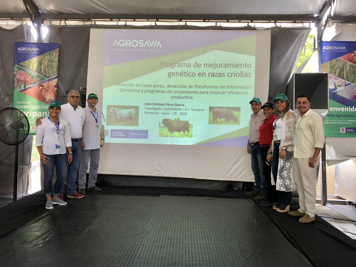 AGROSAVIA recibe en la 59 versión de la Feria Nacional de la Ganadería la condecoración José María Córdoba por sus aportes al sector agropecuario del departamento de Córdoba