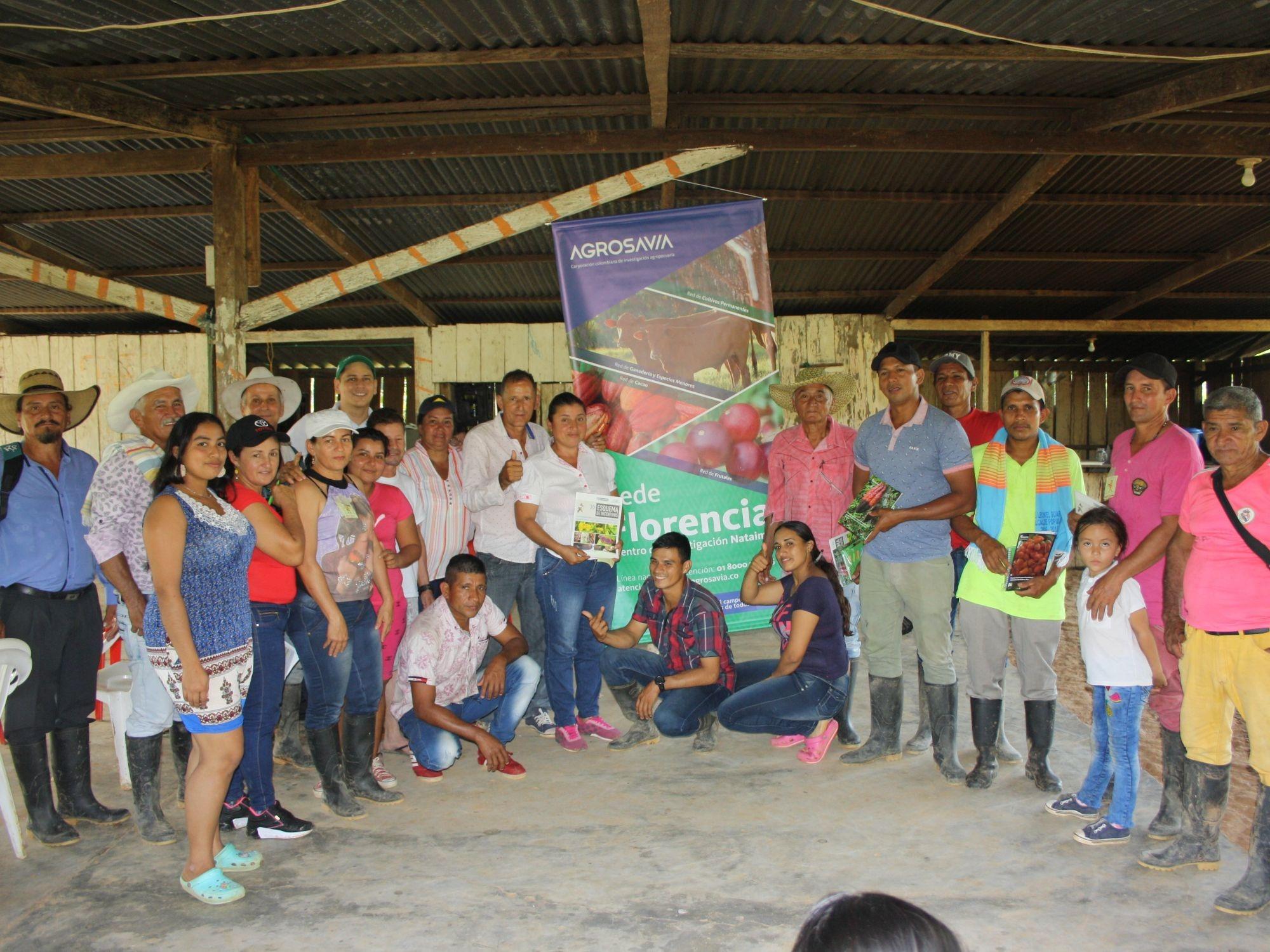 AGROSAVIA realiza taller para la gestión de medios de vida resilientes a través de redes