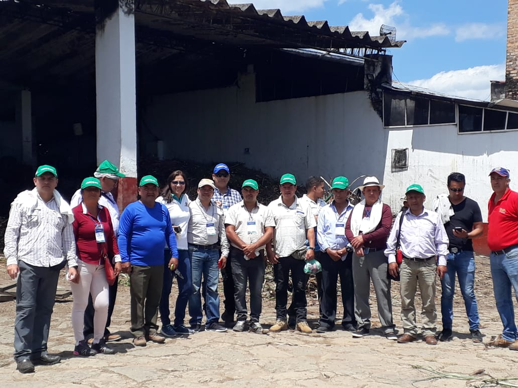 Productores de Nariño visitan la región panelera de la Hoya del Río Suárez