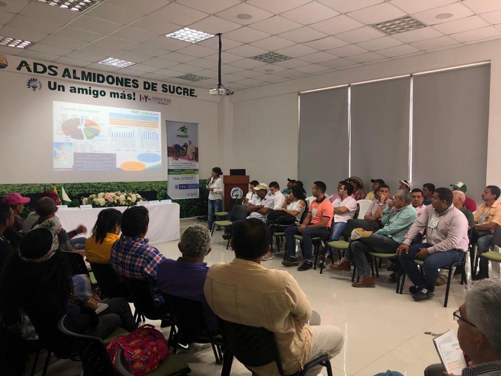 AGROSAVIA hace presencia en la Semana de la Yuca