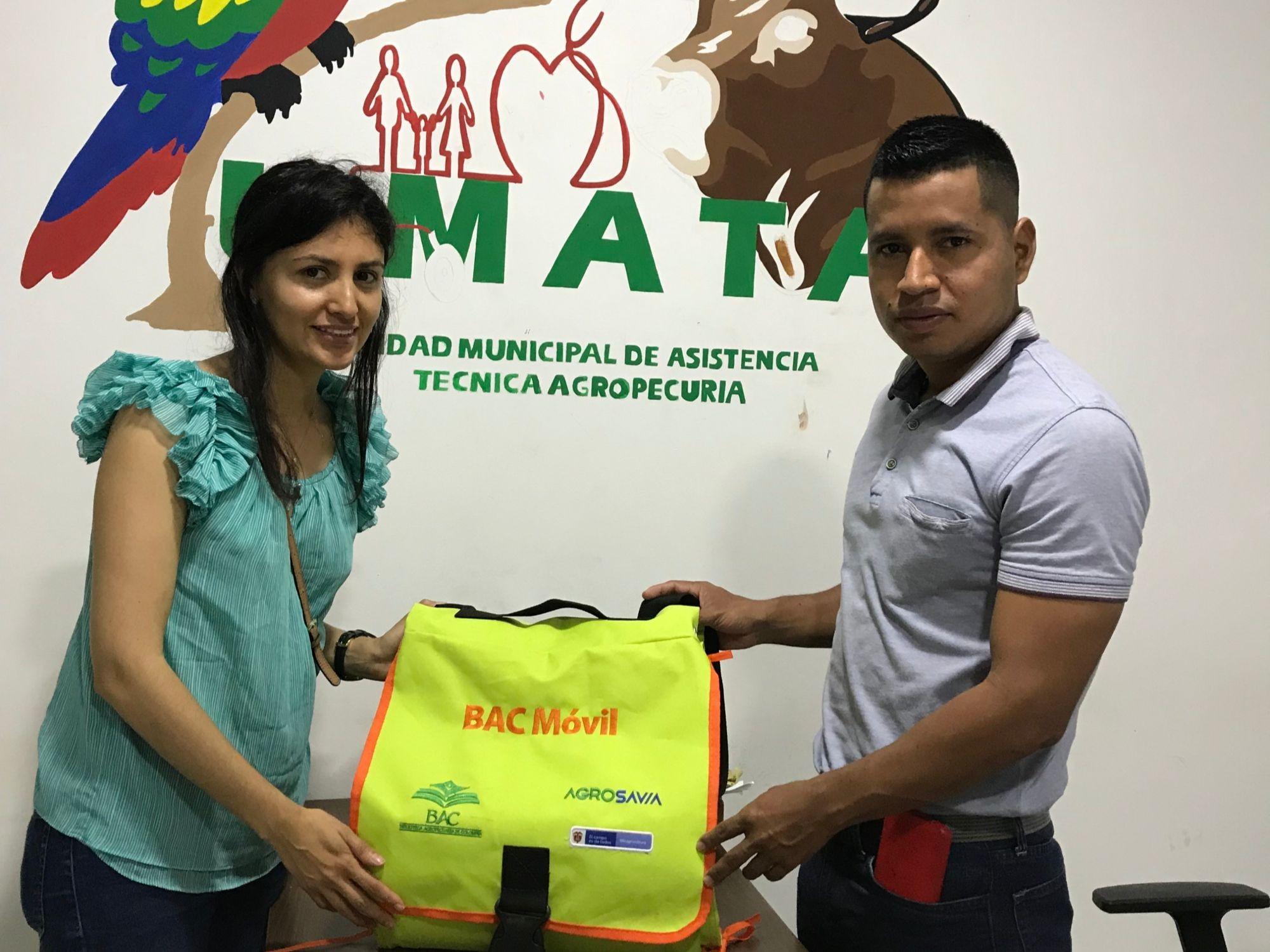 AGROSAVIA entrega BAC Móvil al municipio de Puerto Rico en Caquetá