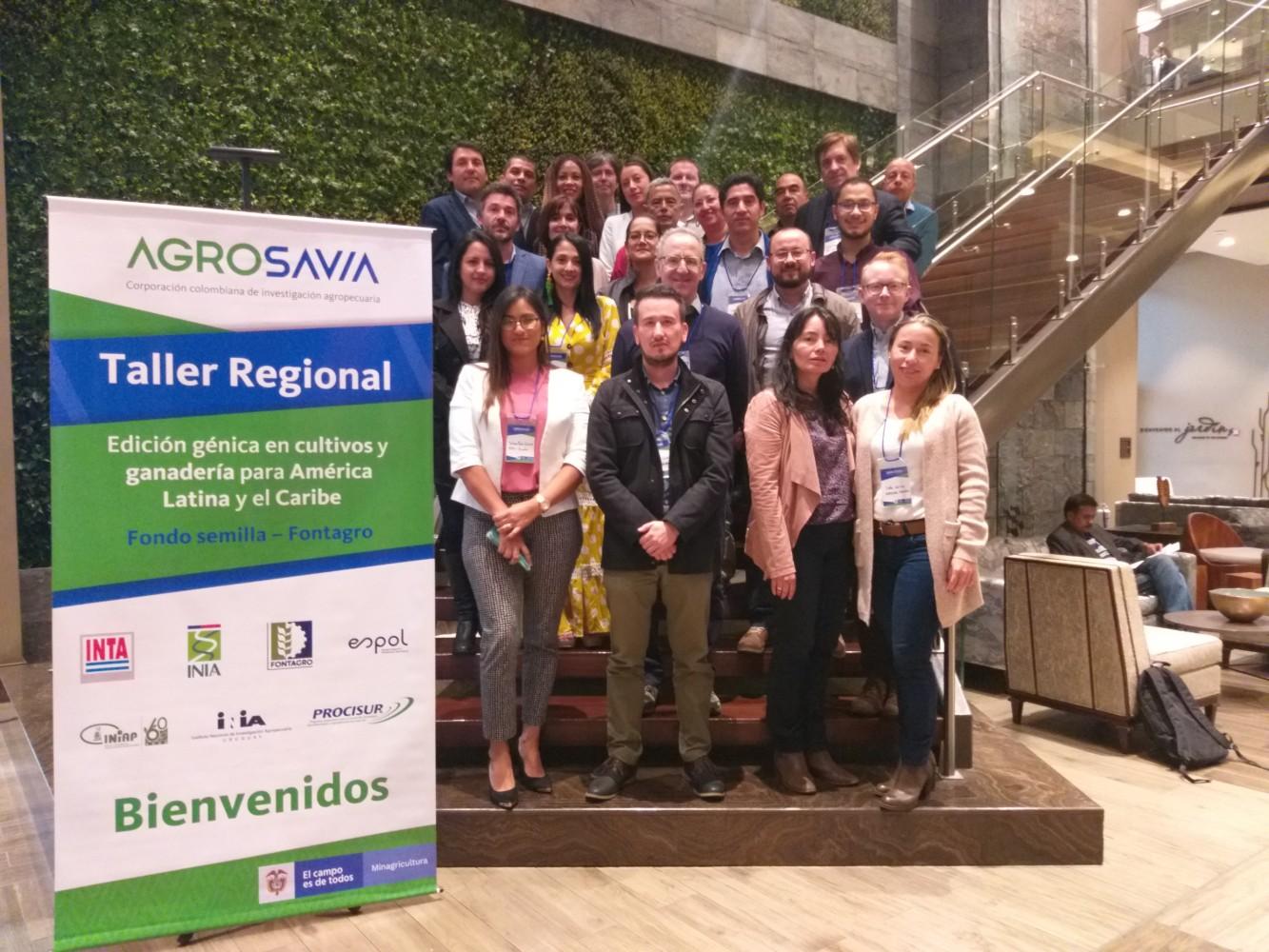 Inician las discusiones para la creación la plataforma regional de edición génica de la región Andina y el Cono Sur
