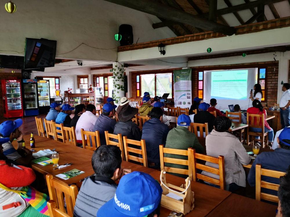 TRICOTEC llega a productores de tomate de Villa de Leyva, Boyacá