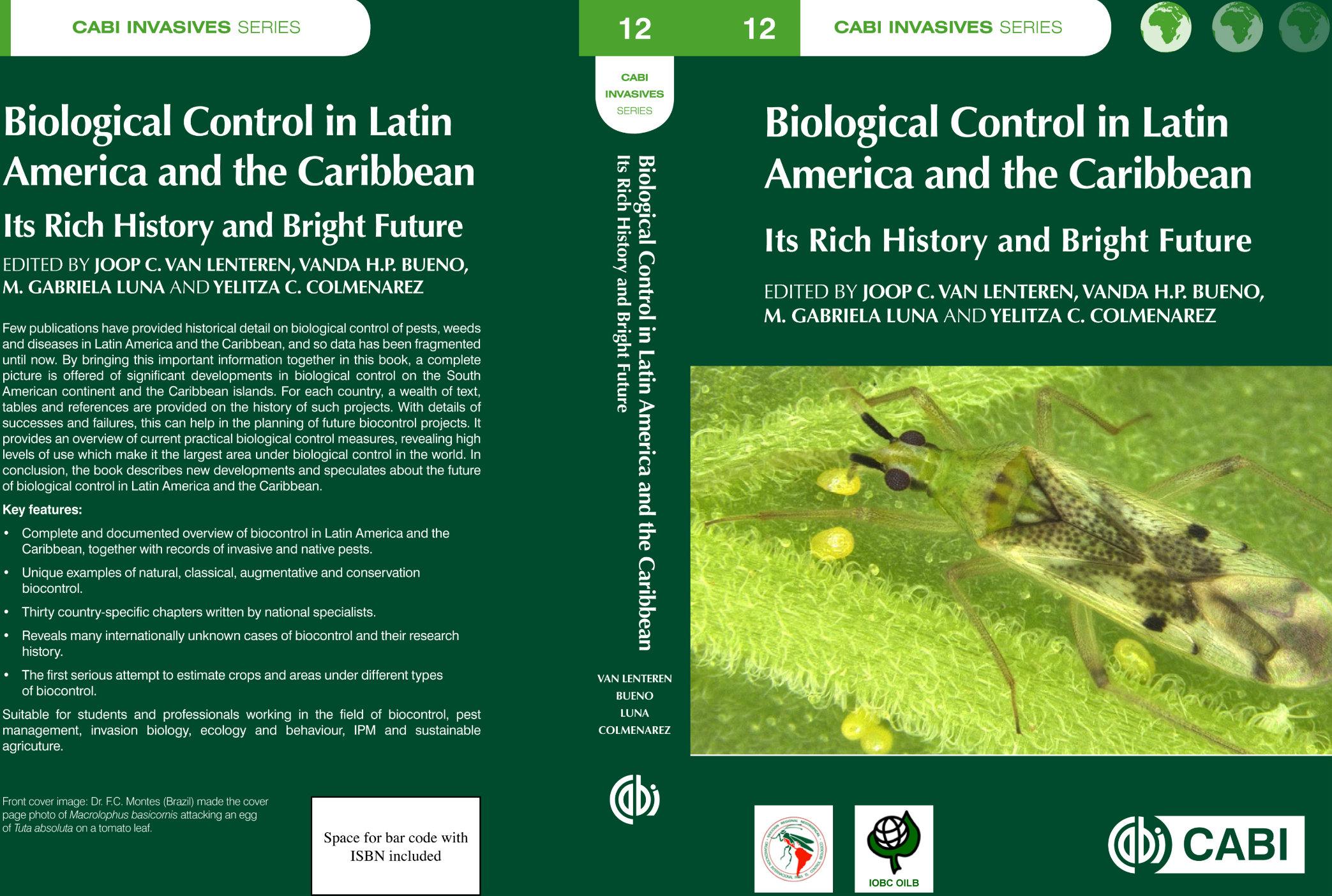 Investigadores de AGROSAVIA participaron en la escritura de nuevo libro sobre control biológico en Latinoamérica y el Caribe