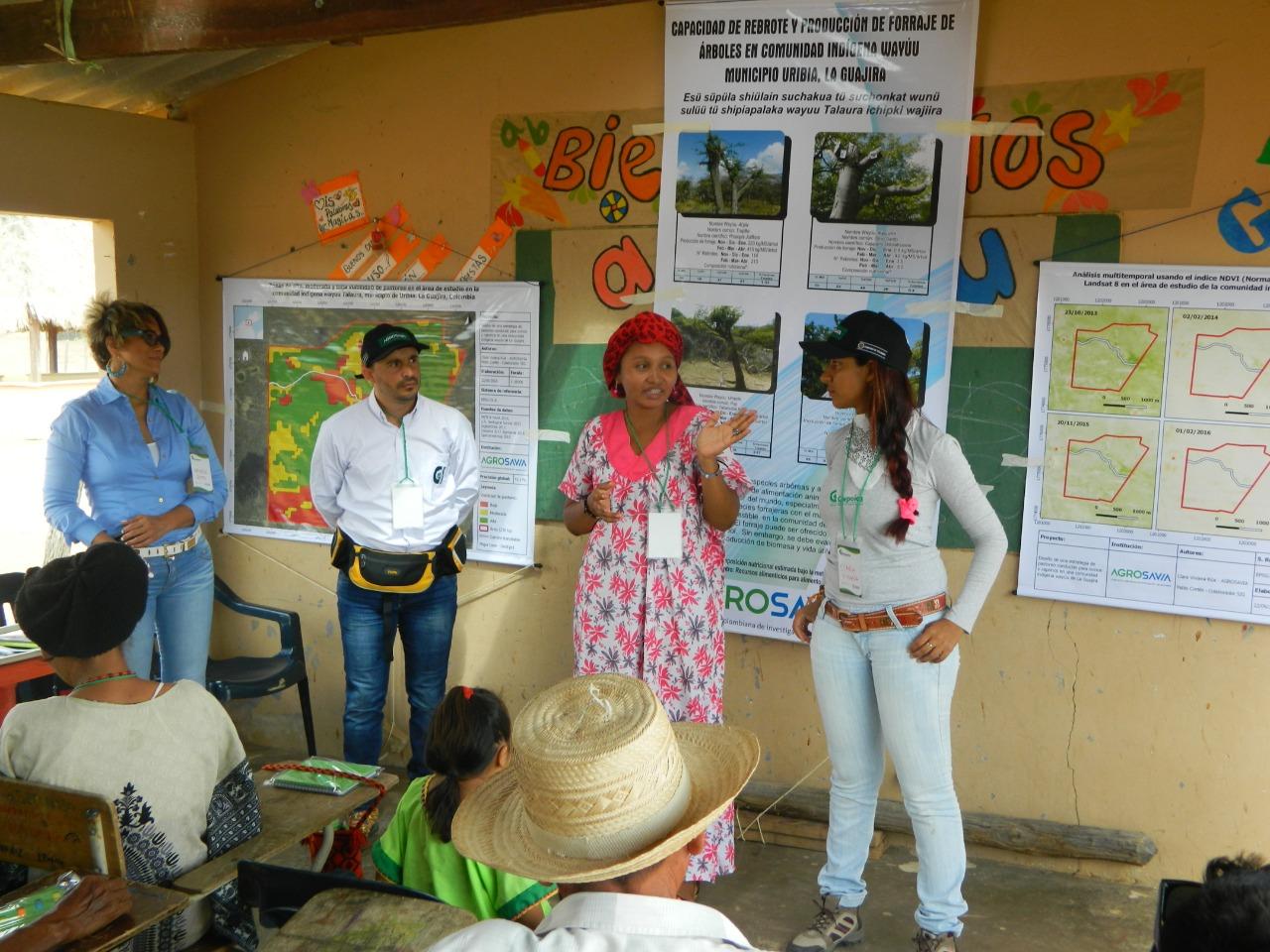 AGROSAVIA resalta los logros obtenidos por su primera tesista perteneciente al pueblo originario Wayú