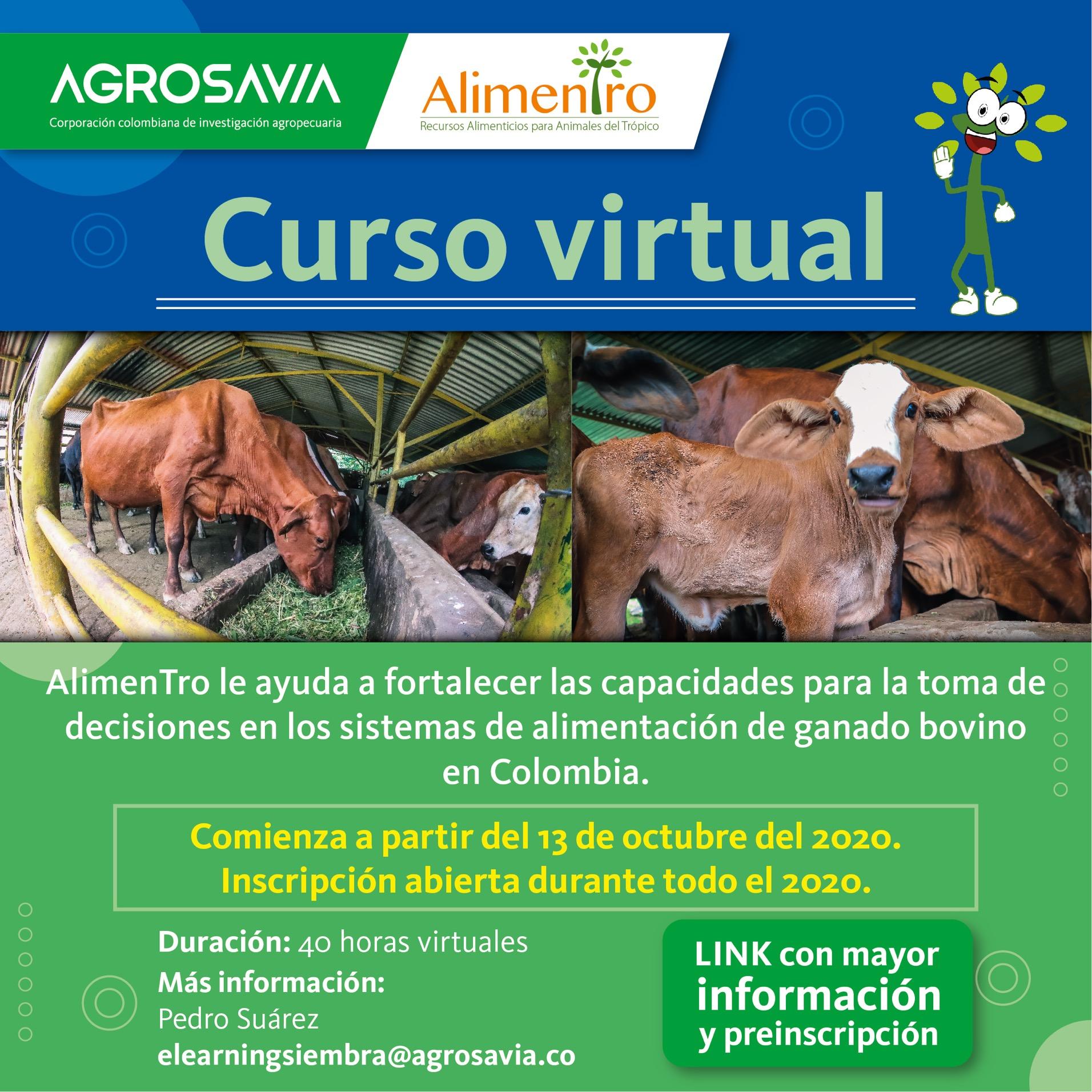 Continúa abierta la preinscripción al curso gratuito sobre AlimenTro