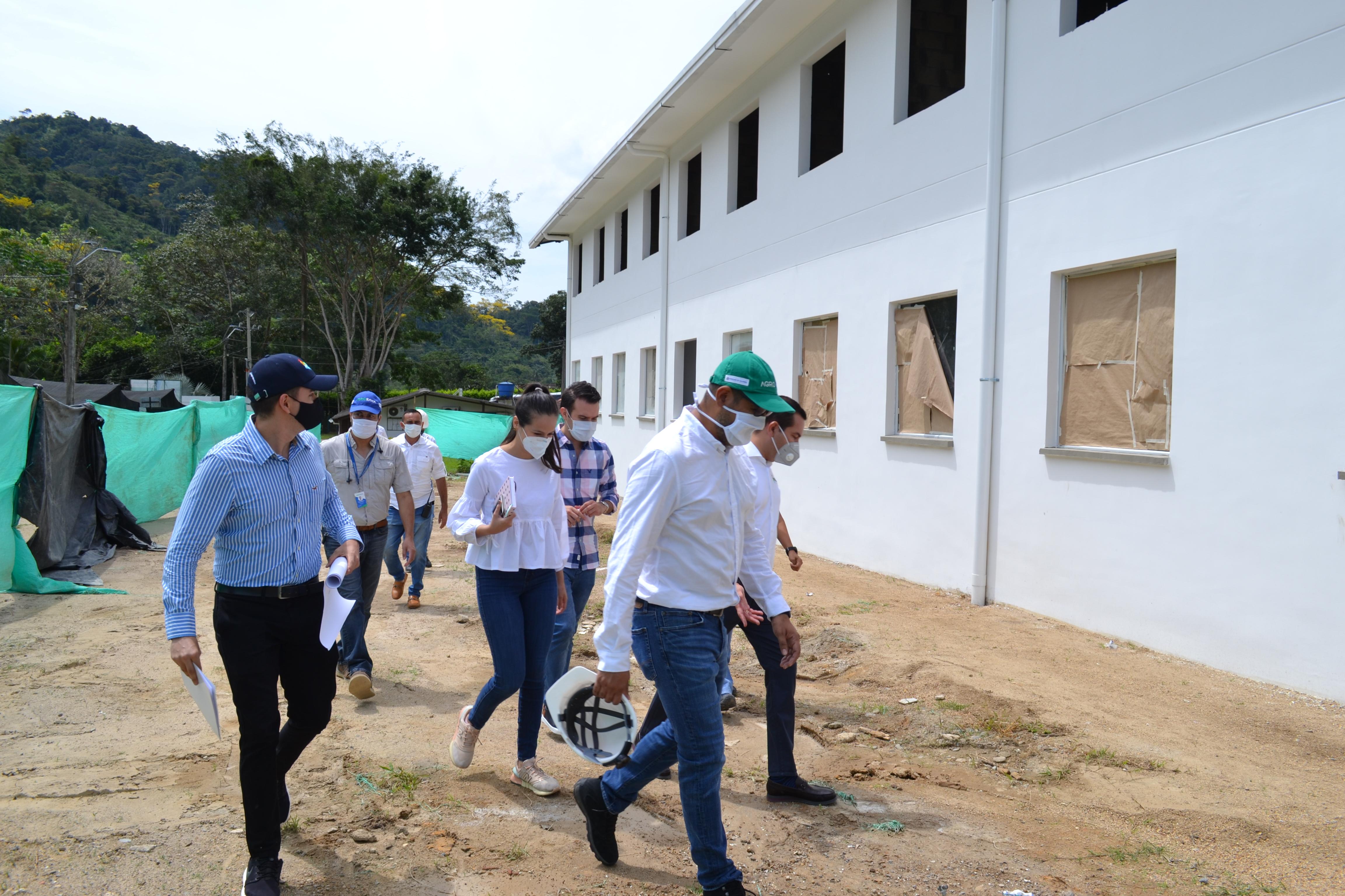 AGROSAVIA inicia etapa final de construcción de laboratorios en el Centro de Investigación (C.I.) La Suiza