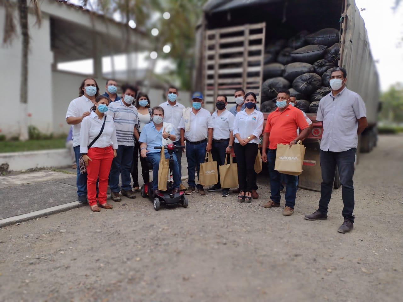 AGROSAVIA entrega ensilaje de maíz como alternativa de alimentación bovina para la época de sequía